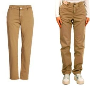 INCOTEX RED Distressed Style Beige Chinos size 27